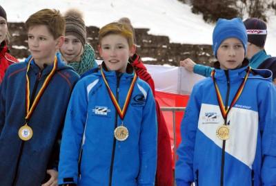 Vinzenz Fembacher, Janne Rein, Lukas Hallweger S12m