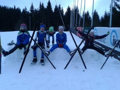 von links: Lisa, Philipp, Simon, Sebi, und Melli