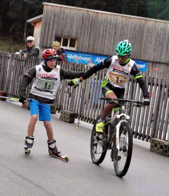 Wechsel Rein Skiroller auf Niklas Wrona (MTB)